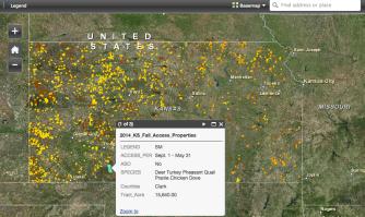 Kansas 2014 WIHA Map
