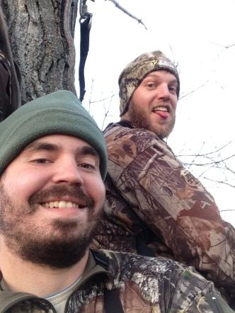 Tree Stand Selfie