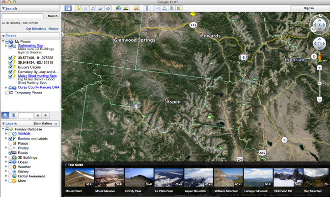 Google Earth For Hunting